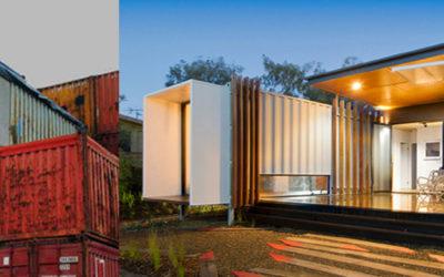 Arquitectura con CONTAINERS para casas