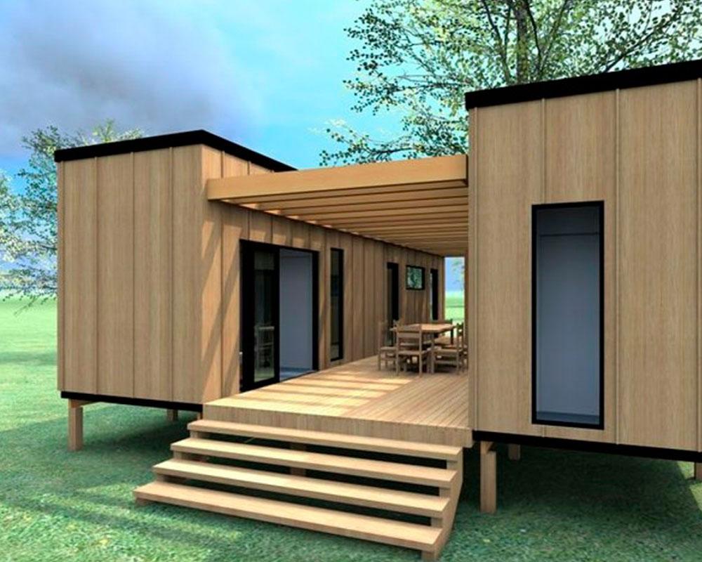 casa modular con containers