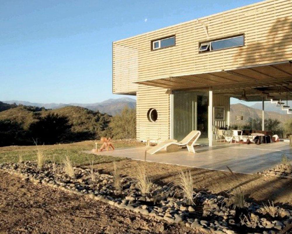 casa con containers
