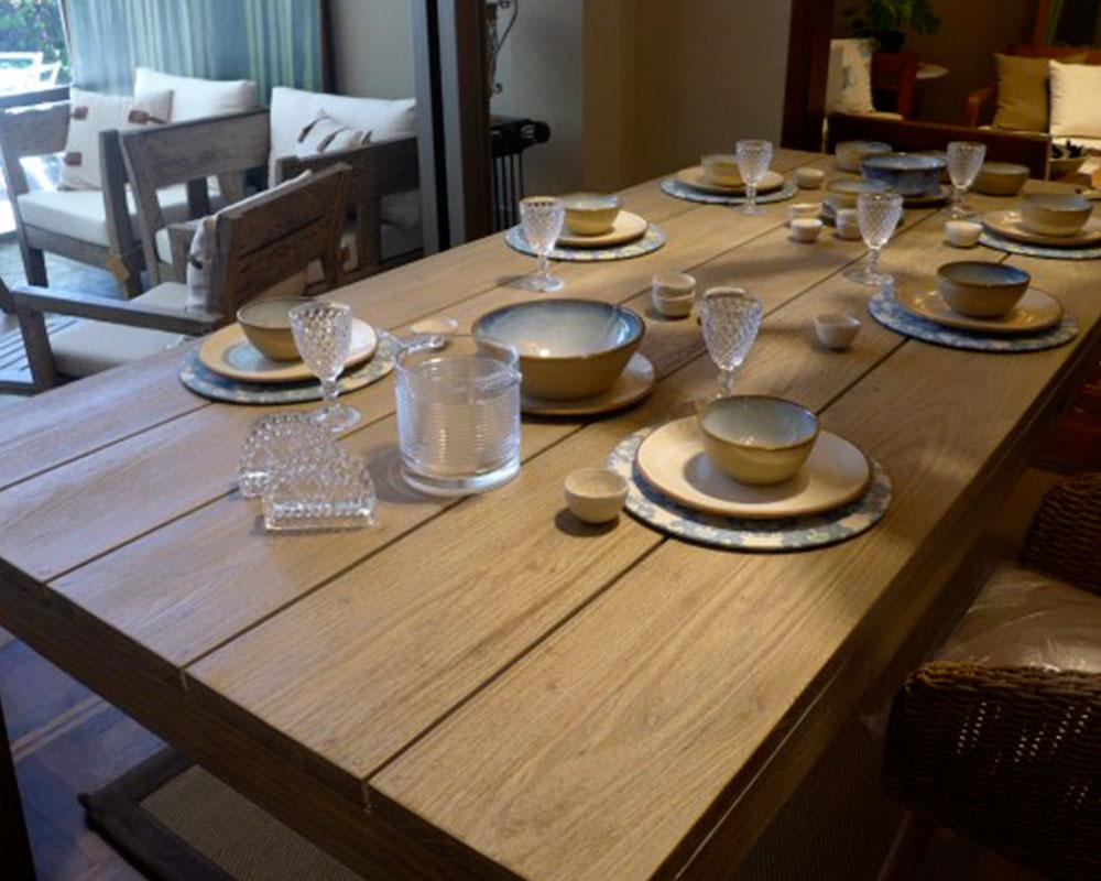 mesa madera dura