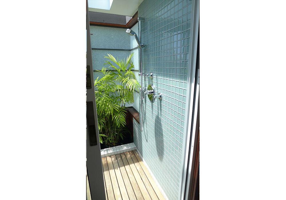 ducha con deck