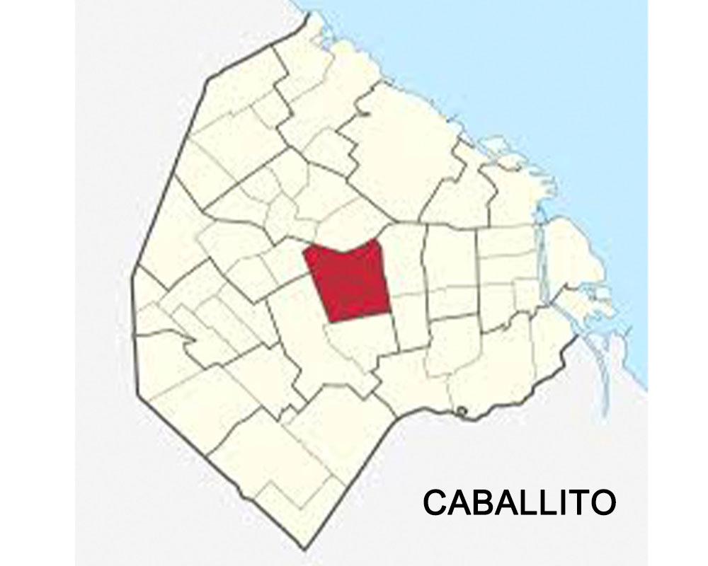 Mapa-Caballito