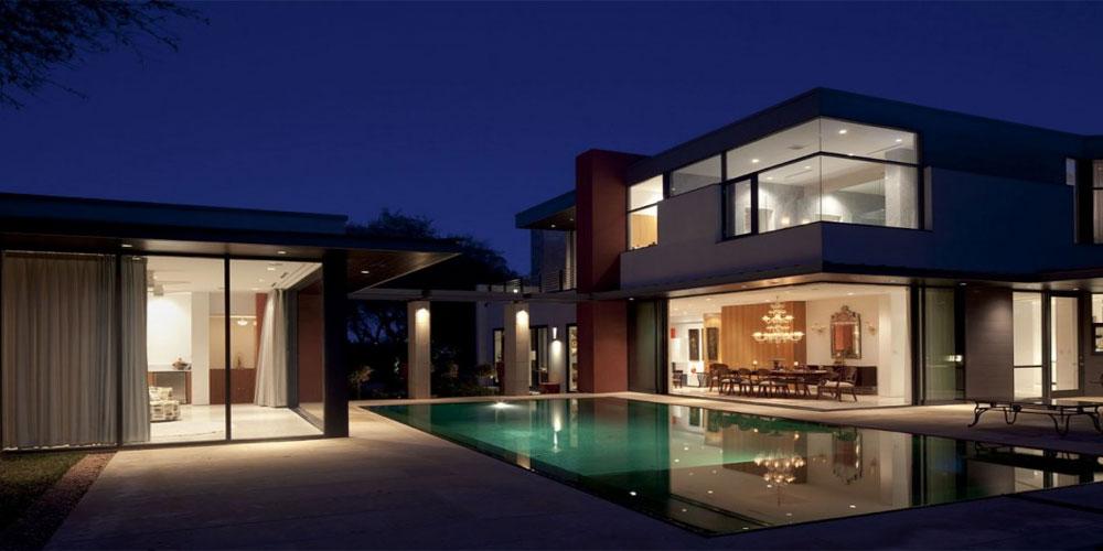 casa- con gran piscina
