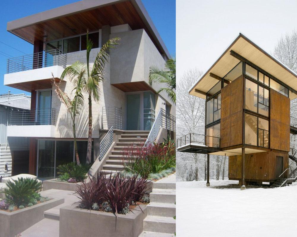 casas-tcon diferentes soluciones de formas
