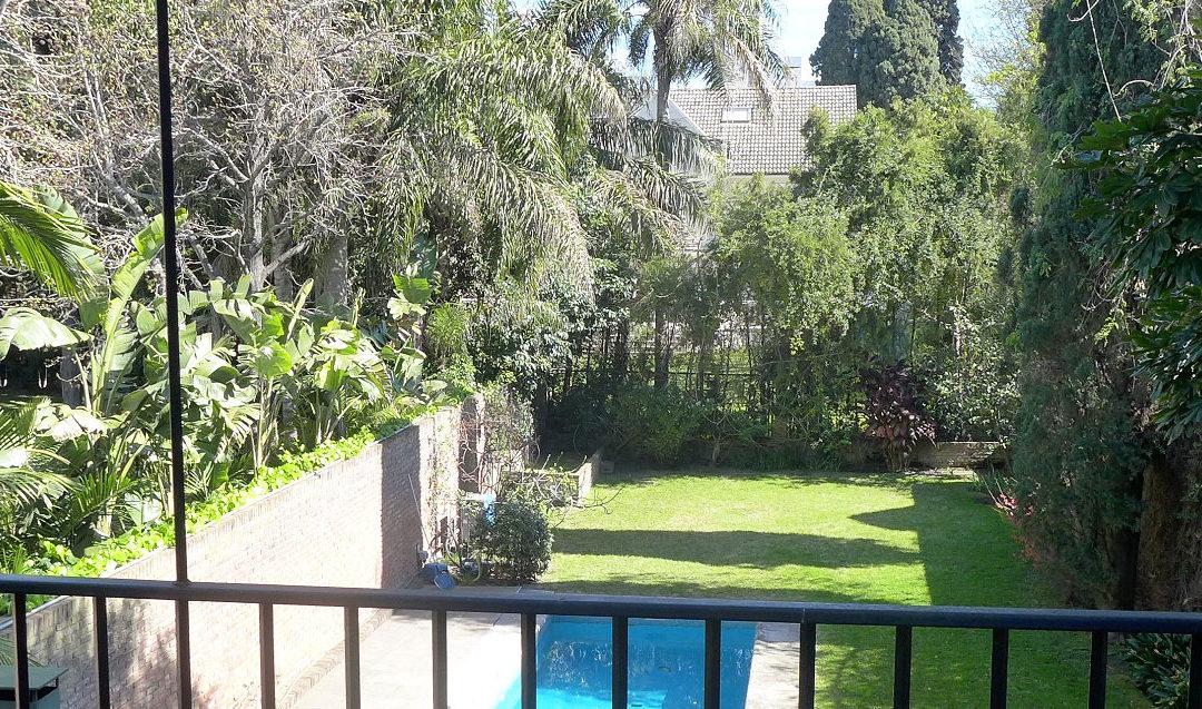 Casa con gran parque en Vicente López