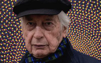 Julio Le Parc, el gran artista en cuarentena sigue creando!