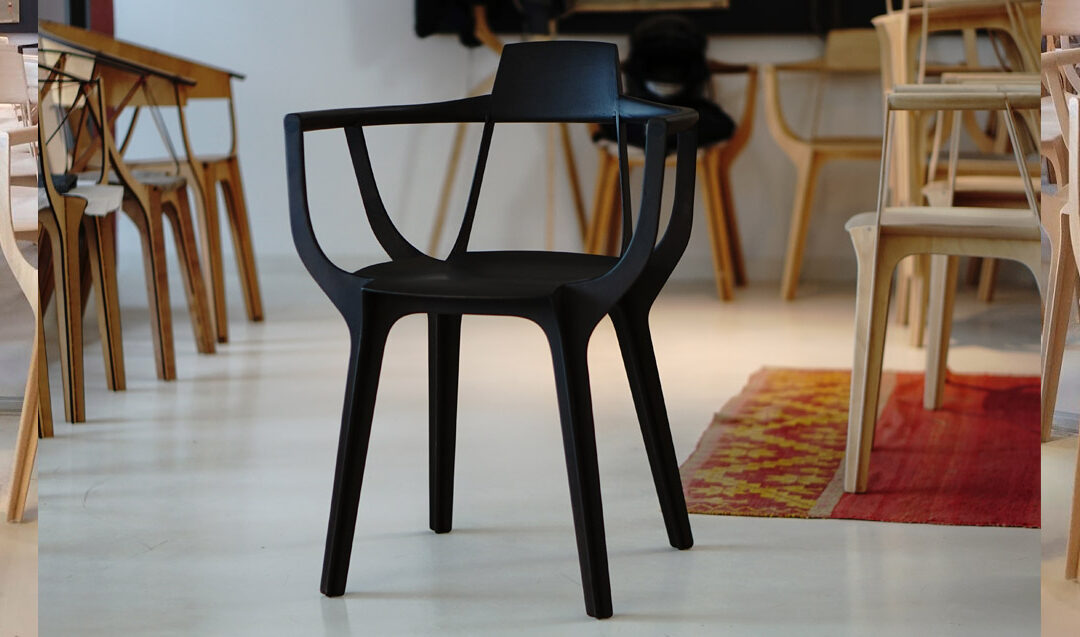 Eutopía: la silla de impresión 3D y corte láser diseñada en Argentina que ganó el premio Compasso d'Oro en Milán.